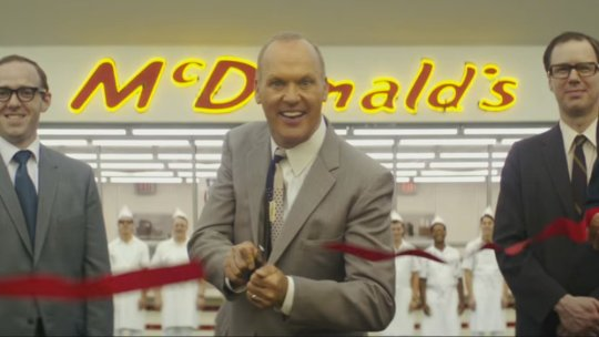 Still from Hancock's and Siegel's The Founder (2016)